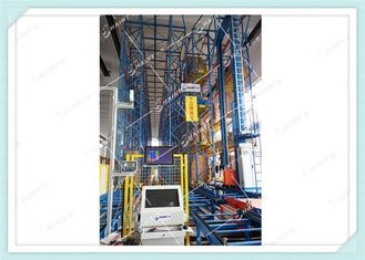 Heavy Duty Automatic Storage Retrieval System With Stacker Crane High Automation