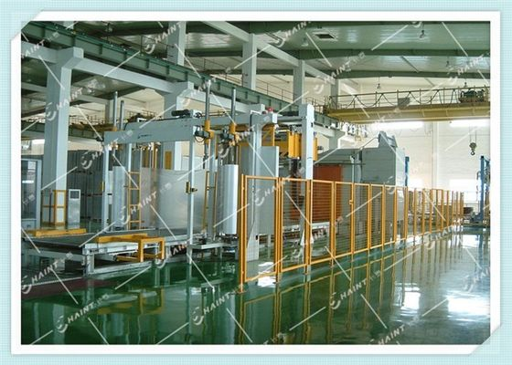 Chaint Pallet Wrapping Machine Electric Driven With PLC Based Control System